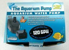 Danner SP-120  Aquarium Fountain Water Pump. Max 120 GPH.  NEW