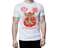 Archgoat Surrender Of Divinity 2013 Art Cover Inspired White T-Shirt
