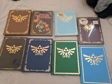Legend of Zelda Video Game Collector's Edition & Vintage 14 Guide Lot + Bonus!