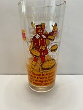 1978 Marvelous Magical BURGER KING Glass Retro
