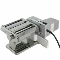 Shule Electric Pasta Maker Machine- Stainless Steel Pasta Roller w/ Motor Set