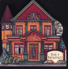 Brandywine Woodcrafts Houses & Shops: BED & BREAKFAST Victorian - Shelf Sitter