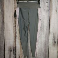 """NUX """"In The Middle"""" crop leggings - Large - Heather Grey/ Orchid"""