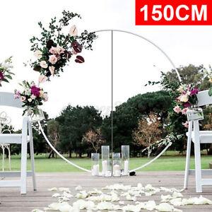 59'' Balloon Arch Large Set Column Stand Base Frame Wedding Birthday Party Decor