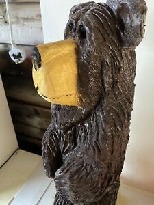 Chainsaw Carved Bear  Carving Animal Carving Wood Carvings