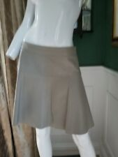 Banana Republic GRAY Genuine Leather Skirt NICE!! Size 8