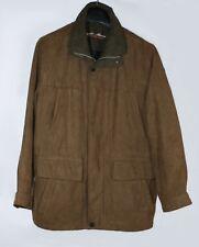 Herren Winter wattierte Jacke von CANDA Gr. 48 Zustand wie neu Farbe braun