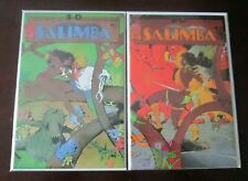 Salimba 3D comic set #1 to #2 all 2 different books 8.0 VF (1986)