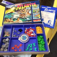 Vintage Escape From Atlantis Game By Waddingtons Used