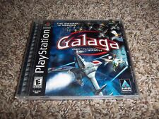 GALAGA DESTINATION EARTH PLAYSTATION 1 - PS1 - COMPLETE - FREE SHIPPING