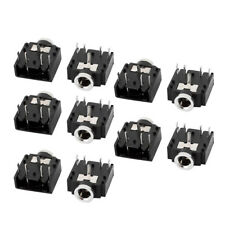 10Pcs 3.5mm Female Stereo Audio Socket Headphone Jack Connector 5 Pin PCB Mount