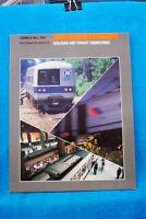 Gibbs & Hill Railroad & Transit Engineering - Brochure - Circa 1986