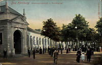 Bad Harzburg Niedersachsen Color AK ~1910 Brunnenpromenade Wandelgang ungelaufen