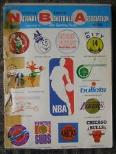 1969-70 National Basketball Association Guide Published by The Sporting News