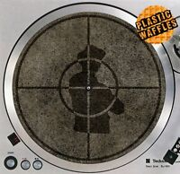 "Public Enemy Scratched Slipmat Turntable 12"" LP Record Player DJ Audiophile"