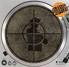 "Public Enemy Scratched Slipmat Turntable 12"" LP Record Player DJ Audiophile"