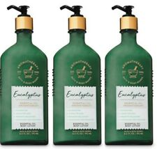 3 Bath & Body Works Aromatherapy Eucalyptus Essential Oil Body Lotions Set