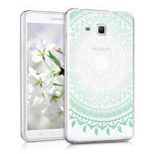 kwmobile Crystal Hülle Tpu Silikon für Samsung Galaxy Tab A 7.0 Indische Sonne