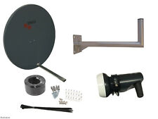 Triax TD110 Satellite Dish(110cm) With Wall Mount & Single LNB/ Installation Kit