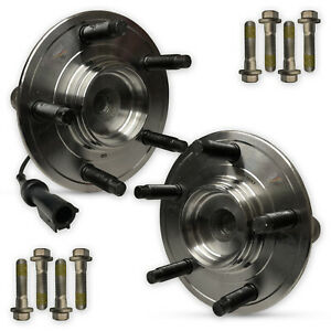 For Jaguar Daimler XJ8 X350 2x Front Hub Wheel Bearing Kit 5 Stud Pair LH RH