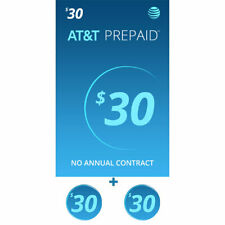 At&T Sim Card with $30 Prepaid Monthly Calling Plan having 2 Months Service Incl
