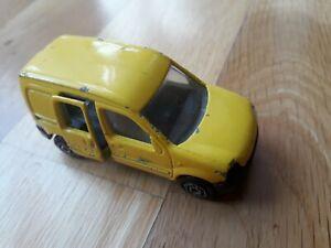 majorette renault kangoo utilitaire la poste voiture miniature 1/57 jaune 288