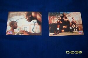 2-1993 SKYBOX PEPSI SHAQUILLIE ONEAL # 3 & 4