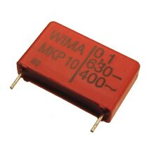 2 WIMA Impulsfester Polypropylen Kondensator MKP10 630V 0,1uF 22,5mm 089735