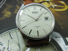 VINTAGE SEIKO AUTOMATIC 7005-2000 CREAM DIAL GENTS.