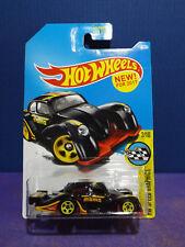 2017 Hot Wheels Black VOLKSWAGEN KAFER RACER, HW SPEED GRAPHICS 2/10, US. Card