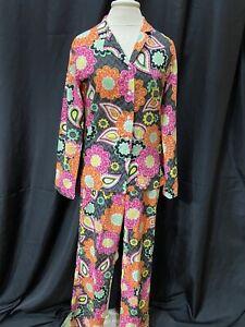 Vera Bradley/Ziggy Zenia 2 Pc Pajama Set-Women Sz XS-Cotton-Multi-Color