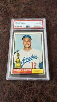 1961 Topps Tommy Davis #168 - PSA 4 - Los Angeles Dodgers