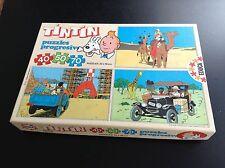 RARE Puzzle Tintin Educa 1987 COMPLET TRES BON ETAT