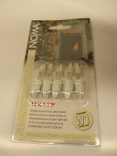 5 Xmas Fairy Light Spare Bulbs Lamps Noma W1 12v 1.1w Fuse Lamps Only 0340F