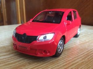 RENAULT SANDERO car 1:38   TECHNOPARK