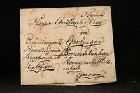 Transatlantic: 1848 Stampless Cover, Pittsburgh to Germany via France