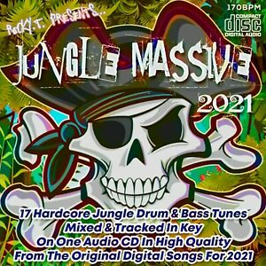 JUNGLE MASSIVE 2021 DRUM & BASS NEW DJ MIXED CD RAVE HARDCORE JUNGLE HQ MUSIC