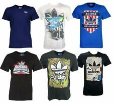 adidas Crew Neck Short Sleeve Regular Size T-Shirts for Men