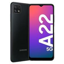 """SAMSUNG GALAXY A22 5G 64GB ROM 4GB RAM GREY DUAL SIM ANDROID DISPLAY 6.6"""""""