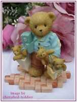 Cherished Teddies ALLEN LIMITED EDITION FIGURINE mint in box