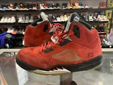 Air Jordan V 5 Retro VTG vintage Raging Bull size 13 red suede OG rare beaters