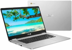 "Asus Chromebook C523NA-BR0067 15.6"" Laptop Cerelon N3350 4GB 64GB Silver"