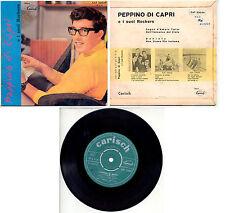 """PEPPINO DI CAPRI  SOGNO D'AMORE+3 7"""" EP CAT 23029 CARISH PORTOGALLO"""