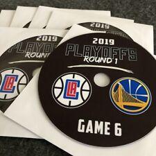 2019 NBA Playoffs R1 Clippers vs. Warriors DVD