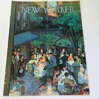 The New Yorker: Aug 2 1958 - Full Magazine/Theme Cover Arthur Getz