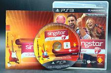 """PS 3 Playstation 3 Spiel """" SINGSTAR GUITAR """" KOMPLETT - nur Software"""
