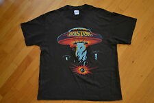 Vintage BOSTON Tour Concert 1987 ROCK N ROLL Band Tom Scholz Brad Delp Tshirt XL