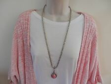 NWT $148 Woman's Short Sleeved Sweater by ZOZO, Textured in Pinks & White M