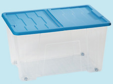 CONTENITORE CON 4 RUOTE MULTIUSO 'MASTER BOX' LT. 50 CM. 57X39X32H