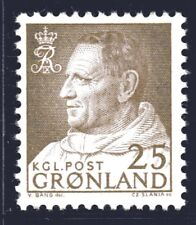 Greenland 1964 25 Ore King Frederik IX Mint Unhinged